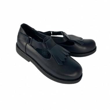Туфли для девочки 7700. Натуральная кожа